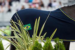 Marcos Fernandes Alves, (BRA), Win Du Vieux Logis - Individual Test Grade Ib Para Dressage - Alltech FEI World Equestrian Games™ 2014 - Normandy, France.<br /> © Hippo Foto Team - Jon Stroud <br /> 25/06/14