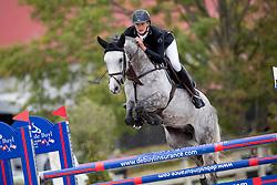 Van Hamme Gilles, BEL, Dollars for Ever 111 Z<br /> BK Young Horses 2020<br /> © Hippo Foto - Sharon Vandeput<br /> 6/09/20