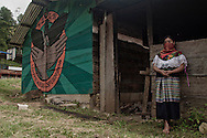Woman with traditional dress.<br /> Mujer en traje tipico.