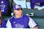 CHAPEL HILL, NC - FEBRUARY 27: High Point head coach Craig Cozart. The University of North Carolina Tar heels hosted the High Point University Panthers on February 27, 2018, at Boshamer Stadium in Chapel Hill, NC in a Division I College Baseball game. UNC won the game 10-0.