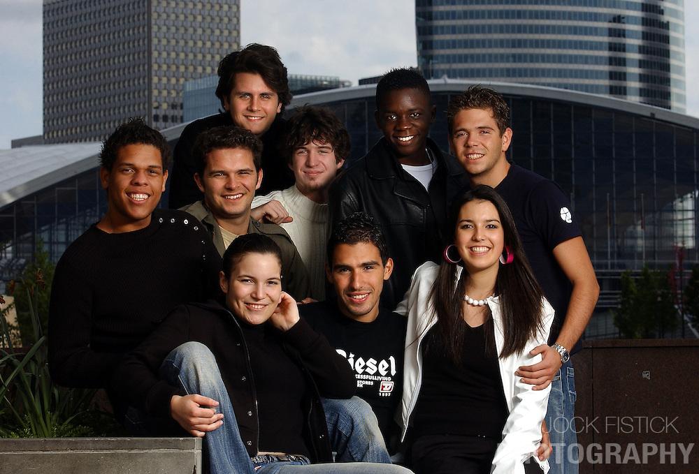 PARIS, FRANCE - University Students - Group Portrait