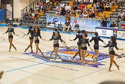 Homer Bryant & The Bryant Youth Professionals perform during halftime.  2016 Paradise Jam Women's Basketball Tournament.  Michigan v. Gonzaga.  UVI Sports & Fitness Center.  St. Thomas, USVI.  24 November 2016.  © Aisha-Zakiya Boyd