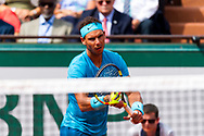 Raphael Nadal (esp) during the Roland Garros French Tennis Open 2018, day 11, on June 6, 2018, at the Roland Garros Stadium in Paris, France - Photo Pierre Charlier / ProSportsImages / DPPI