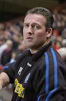 Photo: Olly Greenwood.<br />Charlton Athletic v Wycombe Wanderers. Carling Cup. 19/12/2006. Wycombe manager Paul Lambert