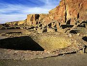 Kiva, Pueblo Bonito, Chaco Culture National Historical Park, New Mexico