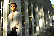 Singer and actor Marc Anthony is seen at his home in Brookville, NY. He is staring as Hector Lavoe in El Cantante with his wife Jennifer Lopez.  7/20/2007 Photo by Jennifer S. Altman/For The Times