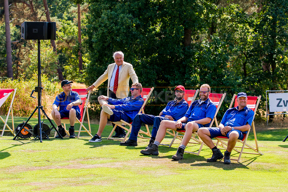 21-07-2018 Pictures of the final day of the Zwitserleven Dutch Junior Open at the Toxandria Golf Club in The Netherlands.21-07-2018 Pictures of the final day of the Zwitserleven Dutch Junior Open at the Toxandria Golf Club in The Netherlands.  Greenkeepers of Toxandria