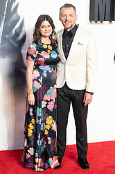 © Licensed to London News Pictures. 13/07/2018. London, UK. Maureen Pegg and Simon Pegg attends the 'Mission Impossible: Fallout' UK Film Premiere. Photo credit: Ray Tang/LNP