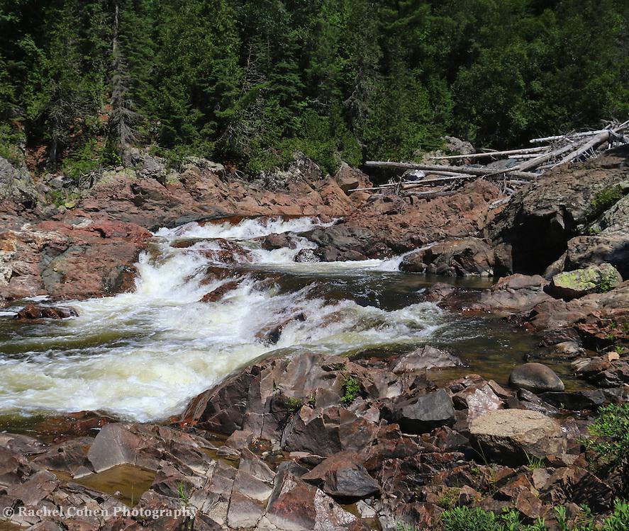 """""""At Chippewa Falls"""" <br /> <br /> Beautiful Chippewa Falls in Ontario Canada."""