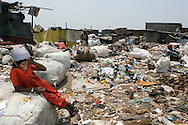 A residential area by Deonar, Mankhurd, Bombay, India