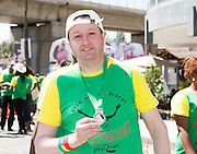 22/11/2015  repro fee. A group of  irish people travelled with Gorta-Self Help Africa travelled to the capital of Ethiopia Addis Ababa for the great Ethiopian run. In temperatures in the mid 30 degree heat and 40,000 people and a city at 7,500 feet above sea level, it's no mean feat. Jimmy McGuire from Waterford finish the race in a great time    .  Photo:Andrew Downes.