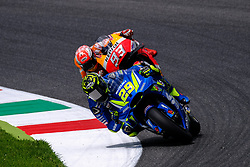 June 1, 2018 - Scarperia, Imola, Italy - 29 ANDREA IANNONE from Italy, Suzuki Ecstar Team, Suzuki GSX-RR, Gran Premio d'Italia Oakley, during the Friday FP1 at the Mugello International Circuit for the 6th round of MotoGP World Championship, from June 1st to 3rd - Photo by Felice Monteleone - NuPhoto  (Credit Image: © Felice Monteleone/NurPhoto via ZUMA Press)