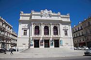 Città di Sète, Il teatro Molière, il Teatro Nazionale di Sète e del Bassin de Thau.    City of Sète, The Molière Theatre, the National Theatre of the Bassin de Thau and Sète.