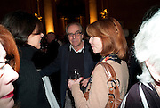 GERALD SCARFE; JANE ASHER, Archive 40 Reception. 40th Anniversary of the Tate archive. Tate Britain. Millbank. London. 25 October 2010. -DO NOT ARCHIVE-© Copyright Photograph by Dafydd Jones. 248 Clapham Rd. London SW9 0PZ. Tel 0207 820 0771. www.dafjones.com.