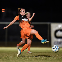 BRISBANE, AUSTRALIA - OCTOBER 4:  during the NPL Queensland Senior Womens Round 9 match between Eastern Suburbs FC and The Gap FC at Heath Park on October 4, 2020 in Brisbane, Australia. (Photo by Patrick Kearney)