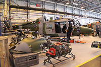 Royal Marines Westland Lynx Royal Naval Air Station Yeovilton Base Tour, UK, 25 November 2010: piQtured Sales: Ian@Piqtured.com +44(0)791 626 2580 (picture by Richard Goldschmidt)