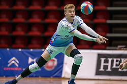 Bennie Tuinstra of Lycurgus in action during the league match between Active Living Orion vs. Amysoft Lycurgus on March 20, 2021 in Doetinchem.