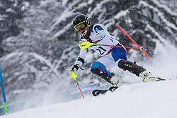 Cuche Robin of Switzerland during Slalom race at 2019 World Para Alpine Skiing Championship, on January 23, 2019 in Kranjska Gora, Slovenia. Photo by Matic Ritonja / Sportida