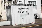 Air quality monitoring, Norwich, England