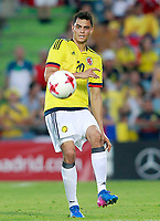 Colombia's Gio Moreno during international friendly match. June 13,2017.(ALTERPHOTOS/Acero)