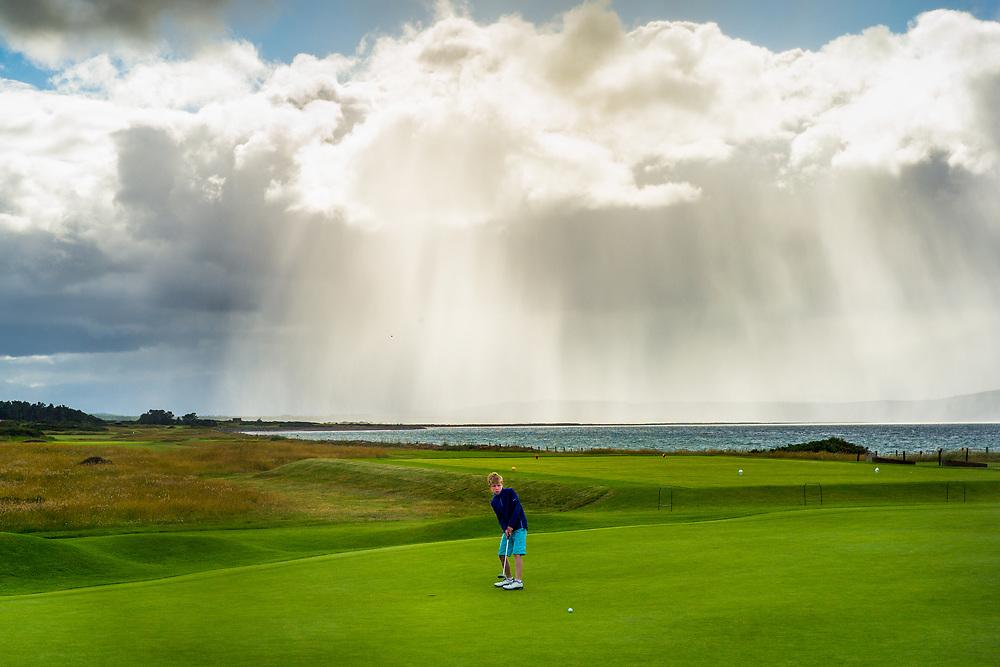 Nairn Golf Club, Nairn, Scotland, June 27, 2016. Photograph ©2016 Darren Carroll