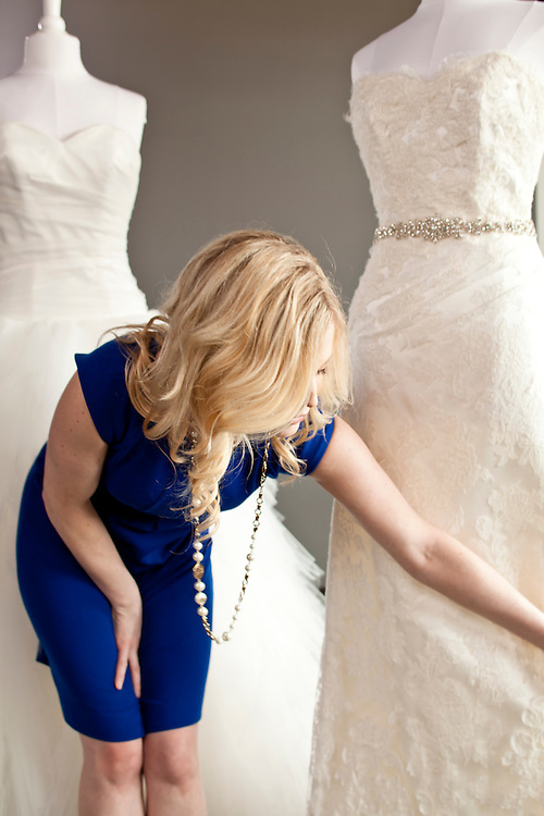 12 March 2012- Ready or KNOT, Jocelyn Robertshaw, owner is photographed at Minorwhite Studios in Omaha, Nebraska.