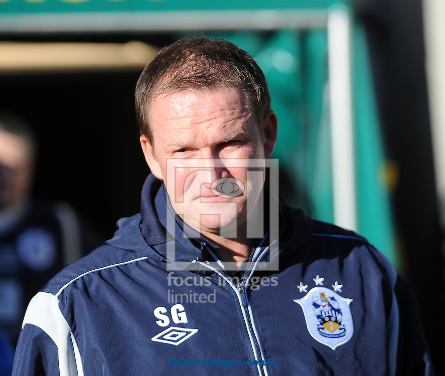 Picture by Graham Crowther/Focus Images Ltd +44 7763 140036.01/12/2012.Simon Grayson manager  of Huddersfield Town during the npower Championship match at the John Smiths Stadium, Huddersfield against Leeds United