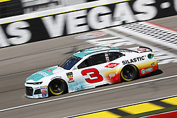 March 2, 2018 - Las Vegas, Nevada, United States of America - March 02, 2018 - Las Vegas, Nevada, USA: Austin Dillon (3) brings his race car down the front stretch during practice for the Pennzoil 400 at Las Vegas Motor Speedway in Las Vegas, Nevada. (Credit Image: © Chris Owens Asp Inc/ASP via ZUMA Wire)
