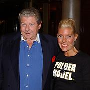 Modeshow Sheila de Vries 2004, Judith Osborn en haar partner Robert