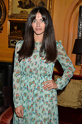 NATALIA BARBIERI at an exclusive dinner for Iris Apfel held at Annabel's, Berkeley Square, London on 29th July 2015.