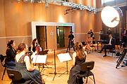 AMSTERDAM, 02-06-2021 , Concertgebouw<br /> <br /> Koningin Maxima tijdens een werkbezoek gebracht aan het Koninklijk Concertgebouworkest in Amsterdam. Koningin Maxima is beschermvrouwe van het orkest<br /> <br /> Queen Maxima during a visit to the Royal Concertgebouw Orchestra in Amsterdam.Queen Maxima is patroness of the orchestra