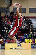 Thomas Abercrombie  in action for the Pistons during their round 16 game in Hamilton,NBL 2011,Waikato Pistons Vs Otago Nuggets,Hamilton Boys' High,Hamilton.  Saturday 9 July 2011.<br /> Photo: Dion Mellow / photosport.co.nz