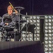 NLD/Amsterdam/20161004 - Wereldpremiere van Inspiration360 2016, drummer cesar Zuiderwijk