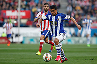 Real Sociedad´s Chory Castro during La Liga match at Vicente Calderon stadium in Madrid, Spain. April 07, 2015. (ALTERPHOTOS/Victor Blanco)