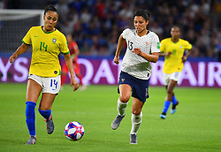 France's Valerie Gauvin during FIFA Women's World Cup France group A match France v Brazil on June 23, 2019 in Le Havre, France. France won 2-1 after extra time reaching quarter-finals. Photo by Christian Liewig/ABACAPRESS.COM