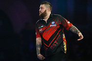 Michael Smith during the World Darts Championships 2018 at Alexandra Palace, London, United Kingdom on 29 December 2018.