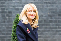 London, November 02 2017. New deputy Chief Whip Esther McVey leaves 10 Downing Street following her appointment to the position. © Paul Davey