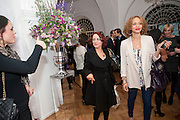 SARAH CAWOOD; ANGELA GRIFFIN; , Elemis 20th Anniversary in partnership with Mothers4Children charity. Party to celebrate 20 years in business and to raise money for Mothers4children and new product launches. One Marylebone. London. 2 February 2010.