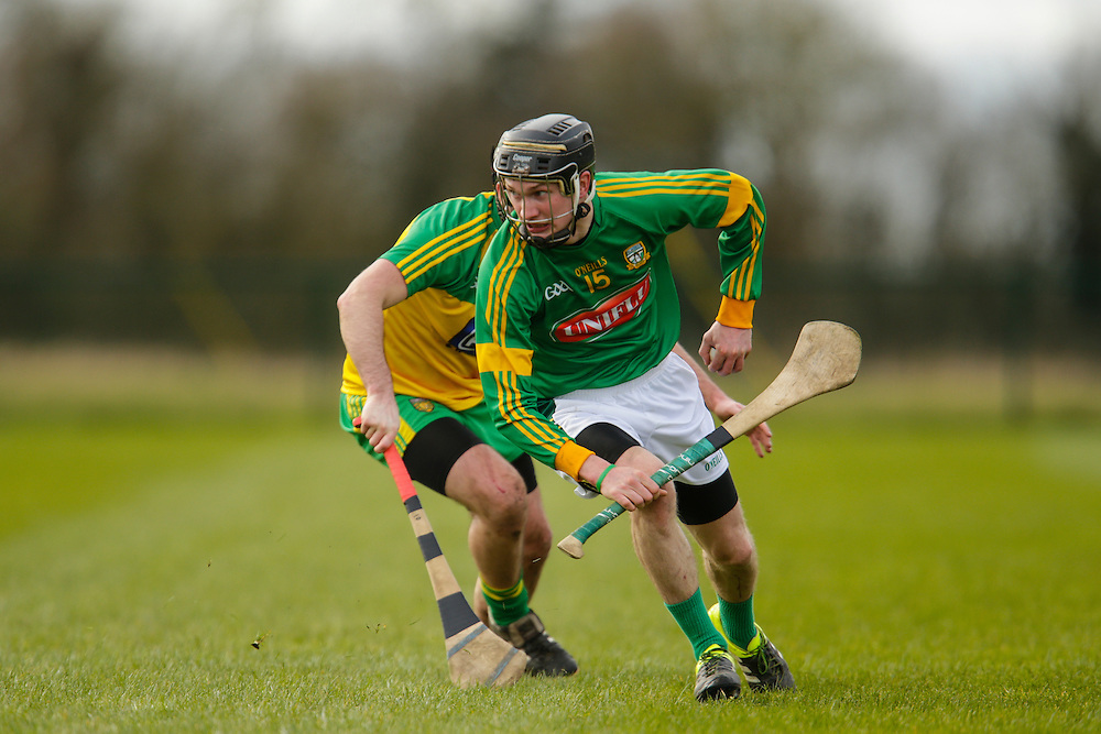 NHL Division 2B at Trim, 6th March 2016<br /> Meath vs Donegal<br /> Adam Gannon (Meath) & Shane Gallen (Donegal)<br /> Photo: David Mullen /www.cyberimages.net / 2016