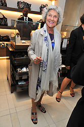 JOAN BURSTEIN at a reception hosted by Vogue and Burberry to celebrate the launch of Fashions Night Out - held at Burberry, 21-23 Bond Street, London on 10th September 2009.