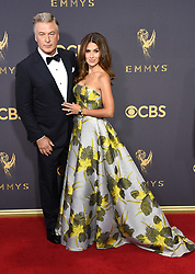 September 17, 2017 Los Angeles, CA Liev Schreiber 69th Emmy Awards - Arrivals held at the Microsoft Theatre L.A. Live © OConnor-Arroyo / AFF-USA.com. 17 Sep 2017 Pictured: Alec Baldwin and Hilaria Baldwin. Photo credit: MEGA TheMegaAgency.com +1 888 505 6342