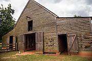 Barn at the President Jimmy Carter Boyhood Farm museum May 6, 2013 in Plains, Georgia.