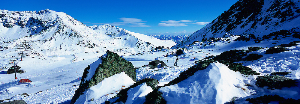 Remarkables Ski Area, Queenstown, South Island,  New Zealand<br />