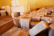 Finished shea butter soap at the Si Yiriwa shea processing center in the town of Diolila, Mali on Friday January 15, 2010.