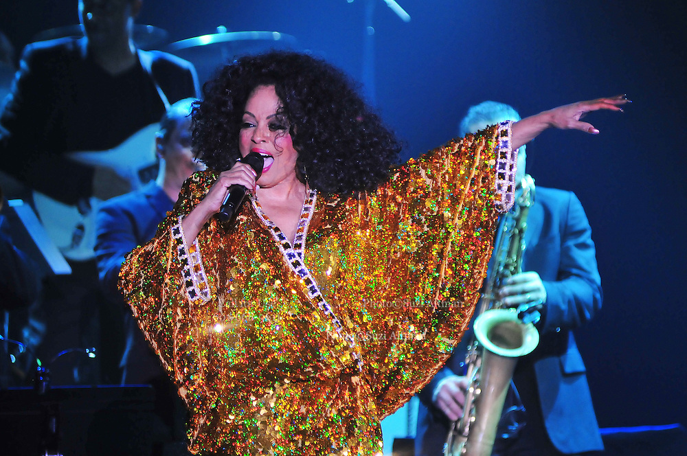 """Legendary singer, songwriter and performer Diana Ross brings down the house at her opening show of her 2011 """"More Than Yesterday"""" North America Tour Friday  Feb. 25,2011 night in Philadelphia Mississippi at the  Pearl River Casino in their newly renovated 5000 seat """"Arena"""". """" Miss Ross""""  opened the show with """" I'm Coming OUt """" and continued to thrill for the next 90 minutes and 5 costume changes. Photo©Suzi Altman"""