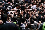 DESCRIZIONE : Bologna Lega A 2014-2015 Granarolo Bologna Banco di Sardegna Sassari<br /> GIOCATORE : tifosi<br /> CATEGORIA : tifosi postgame <br /> SQUADRA : Granarolo Bologna<br /> EVENTO : Campionato Lega A 2014-2015<br /> GARA : Granarolo Bologna Banco di Sardegna Sassari<br /> DATA : 25/01/2015<br /> SPORT : Pallacanestro<br /> AUTORE : Agenzia Ciamillo-Castoria/M.Marchi<br /> GALLERIA : Lega Basket A 2014-2015<br /> FOTONOTIZIA : Bologna Lega A 2014-2015 Granarolo Bologna Banco di Sardegna Sassari<br /> PREDEFINITA :