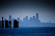 View of Seattle from Bainbridge Island