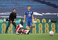 Football - 2020 Emirates 'Heads Up' FA Cup Final - Arsenal vs. Chelsea <br /> <br /> Mikel Arteta (Arsenal head coach), at Wembley Stadium.<br /> <br /> The match is being played behind closed doors because of the current COVID-19 Coronavirus pandemic, and government social distancing/lockdown restrictions.