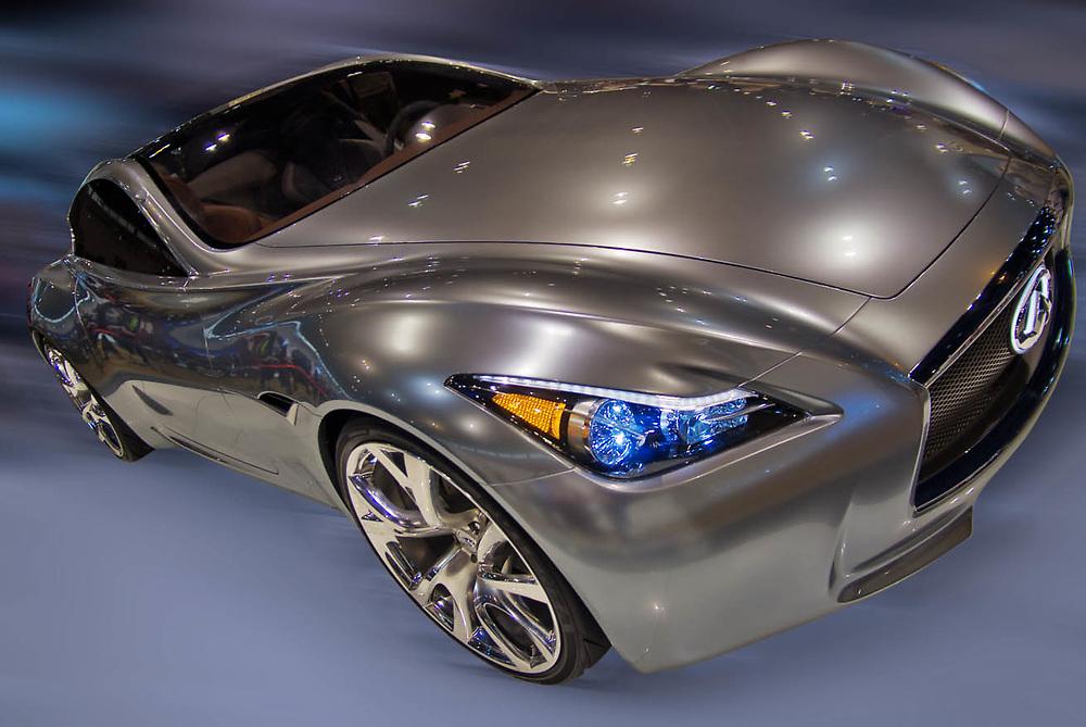Automotive art, digital photographic imagery.