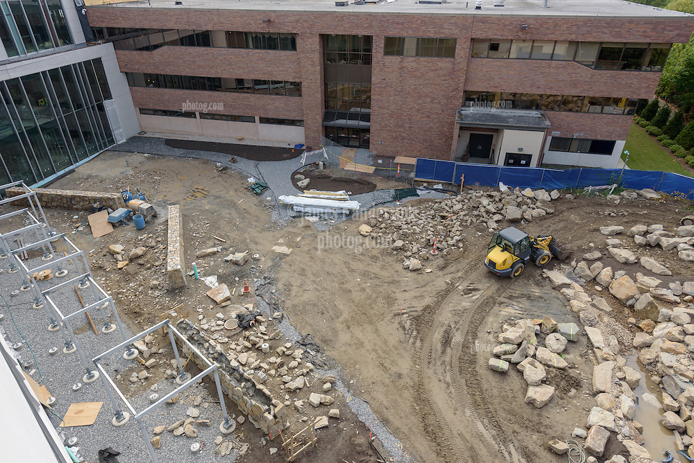 Bridgeport Hospital Park Avenue Campus Outpatient Center. Architect: Shepley Bulfinch. Contractor: Gilbane Building Company, Glastonbury, CT. James R Anderson Photography, New Haven CT photog.com. Date of Photograph 09 October 2015  Submission 19  © James R Anderson